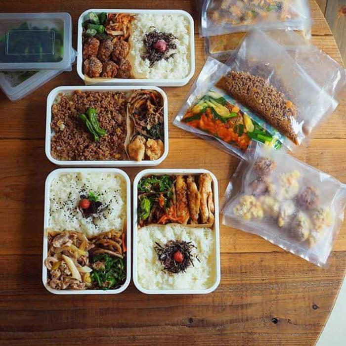 boîte bento repas pour la semaine au travail
