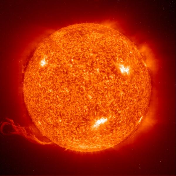 brûler au soleil grande chaleur