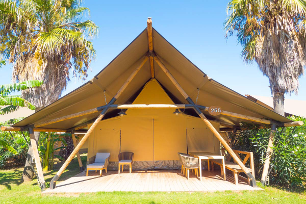 camping luxe construction solide