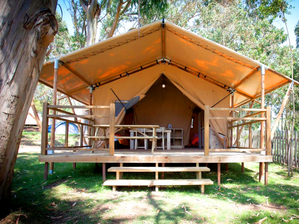 camping luxe deux marches