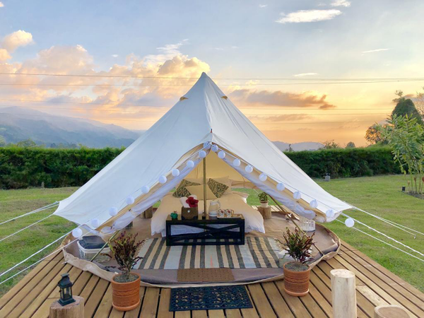 camping luxe un confort minime