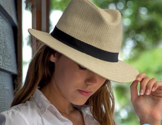 chapeau femme type borsalino