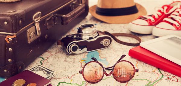 comment bien préparer sa valise une valise rétro