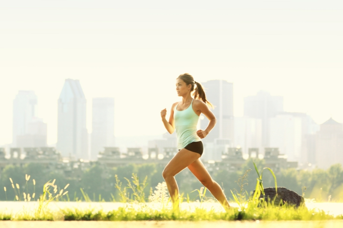 courir pour avoir de belles jambes