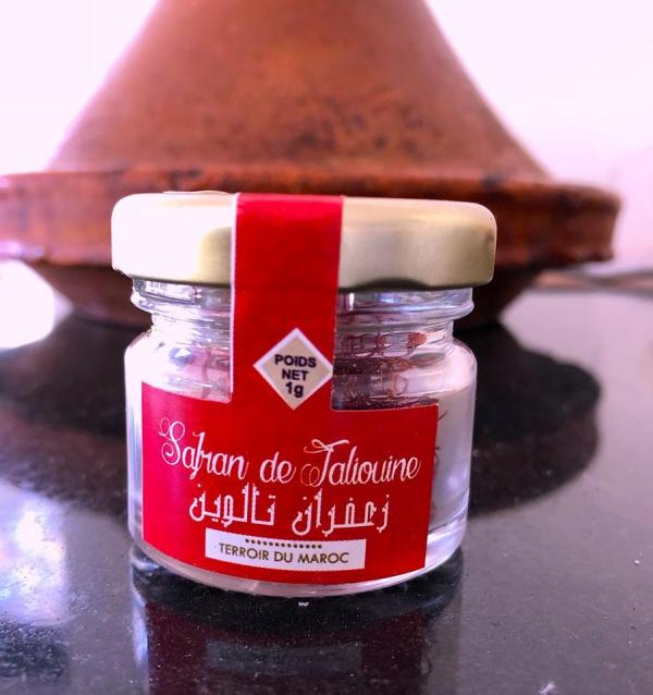 culture safran du terroir du Maroc