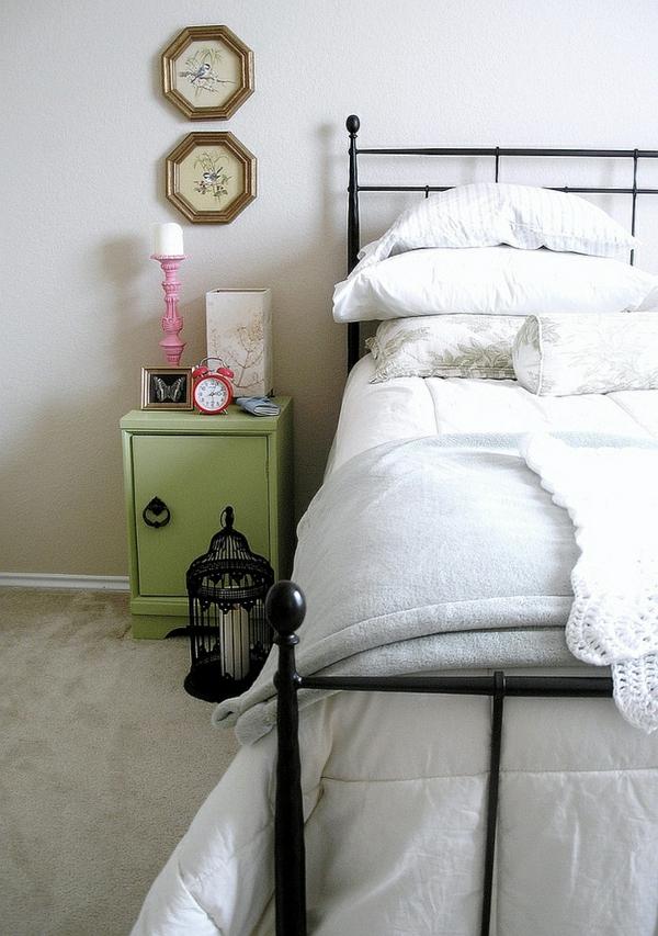 déco cage oiseau chandelier chambre à coucher