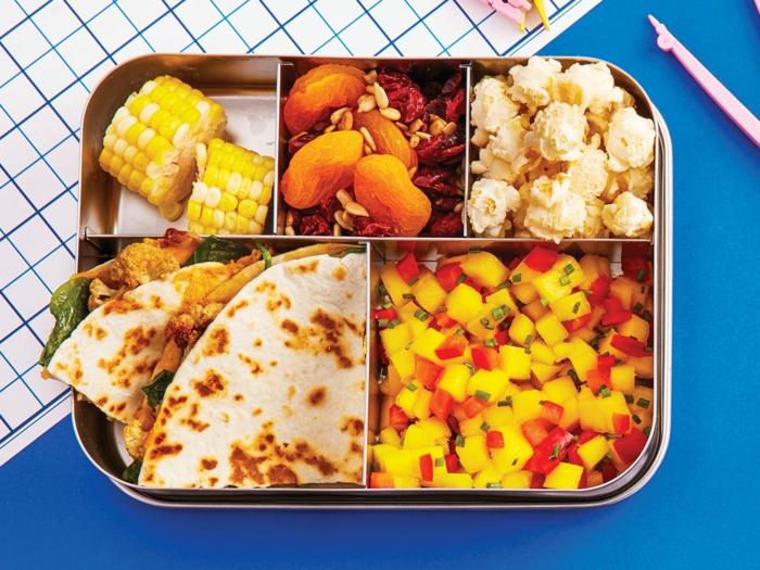 déjeuner enfant boîte bento idée