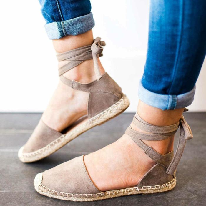 espadrilles transformées sandales