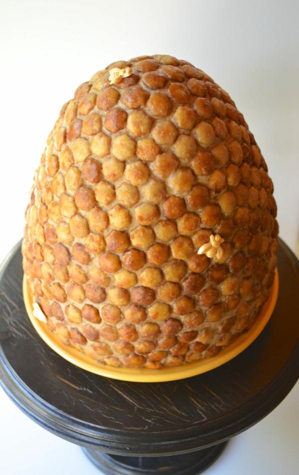 gâteau nid d'abeille sirop d'érable