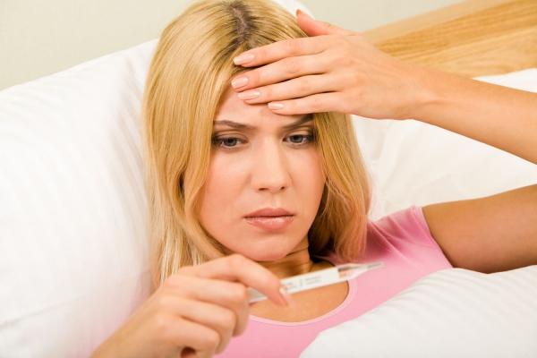 infection gastro-intestinale haute température