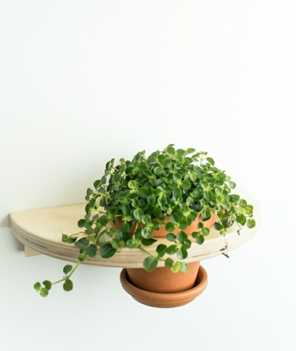jardinière suspendue à fabriquer soi-même pot en terre cuite bois