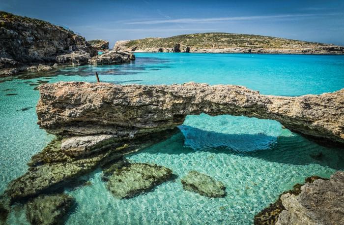 lagon bleu comino malte voyages 2019