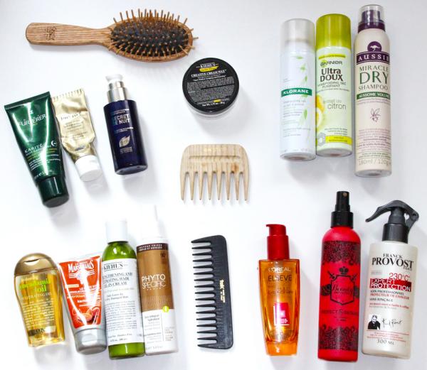 les cheveux frisés protection de la chevelure