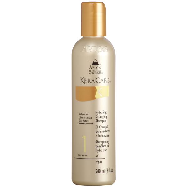 les cheveux frisés shampooing hydratant