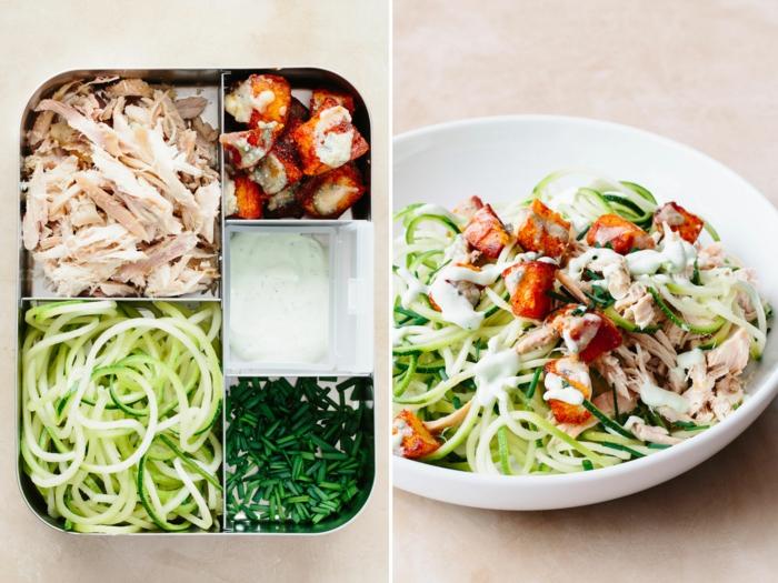 manger sainement boîte bento salade