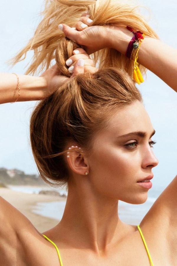 maquillage à la plage durer toute la journée