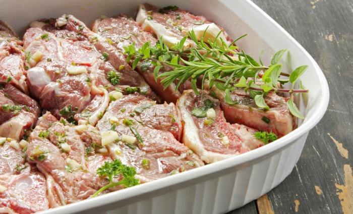 marinade pour viande rouge aux herbes frais
