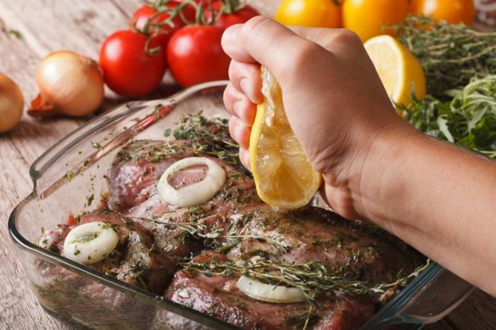 marinade pour viande rouge jus de citron