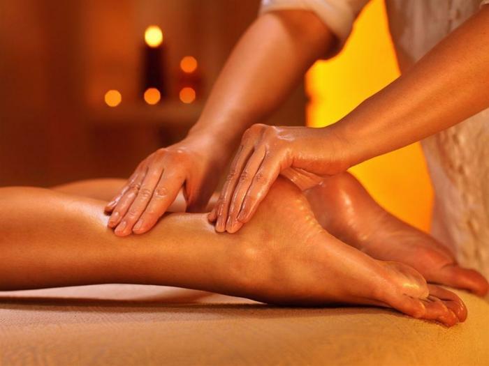 massage idée avoir de belles jambes