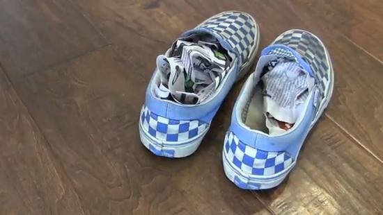 mauvaise odeur maison chaussures puantes