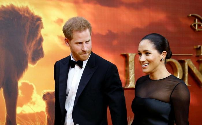 prince harry et meghan markle avant-première londres film le roi lion