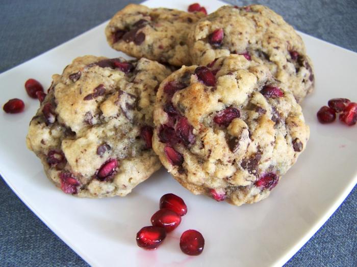 recette cookies avec de la grenade bienfaits de la grenade