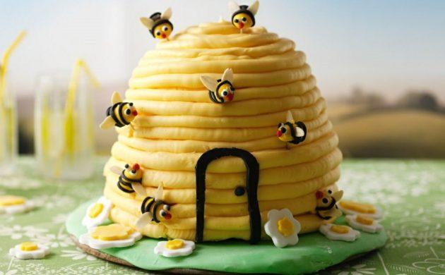 gâteau nid d'abeille
