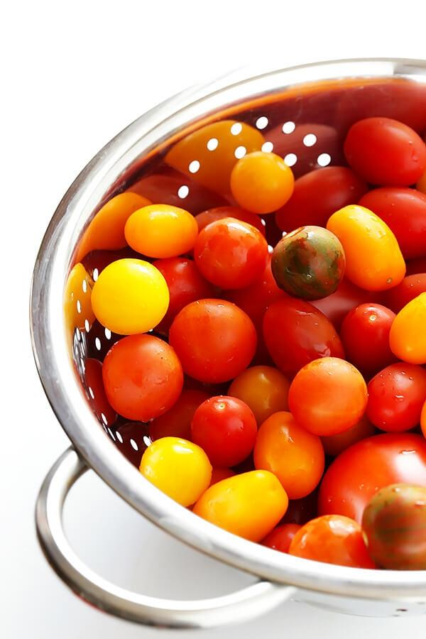 recette gaspacho tomates cherry