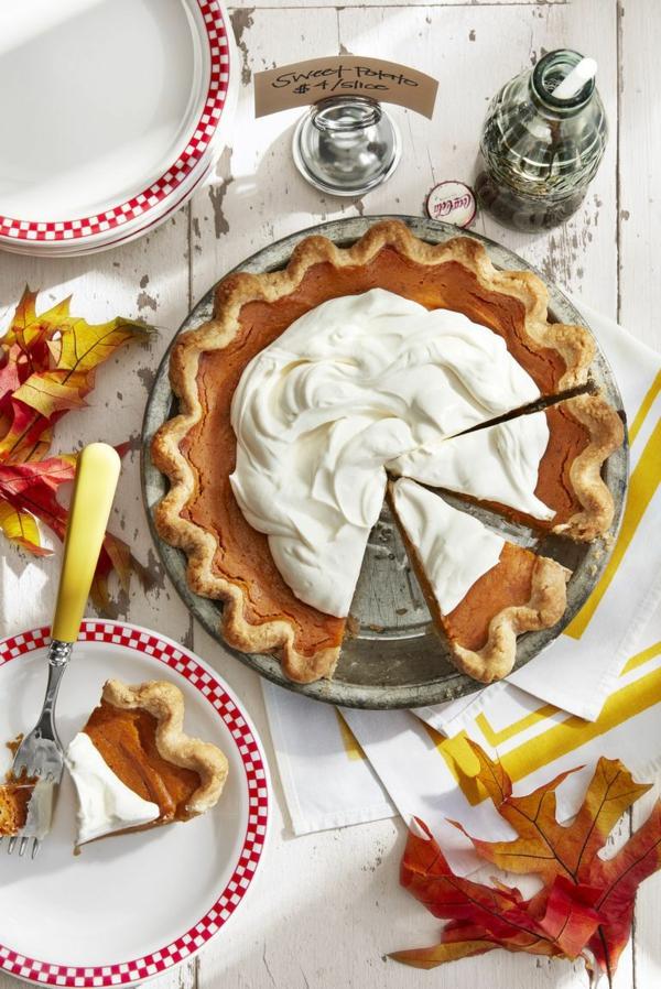 recettes délicieuses avec de la patate douce gâteau à la patate douce au gingembre et à la crème épaisse