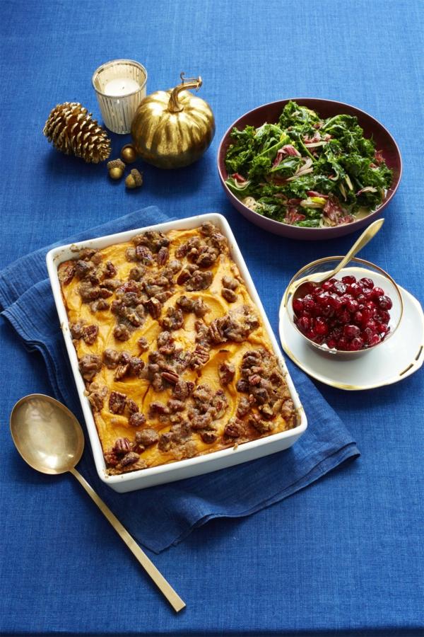 recettes délicieuses avec de la patate douce patates douces aux pécans et au sucre brun