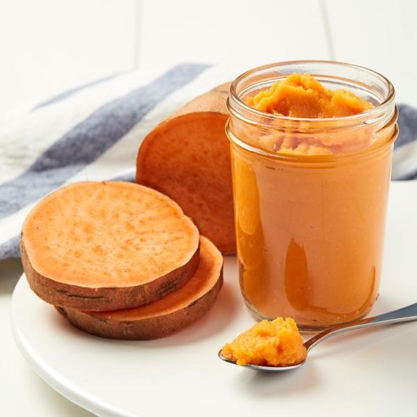 recettes délicieuses avec de la patate douce purée de patate