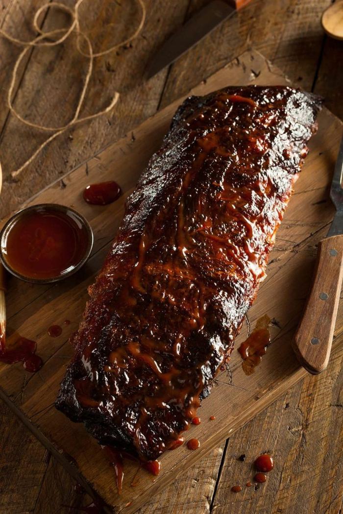 repas délicieux idée marinade pour viande rouge