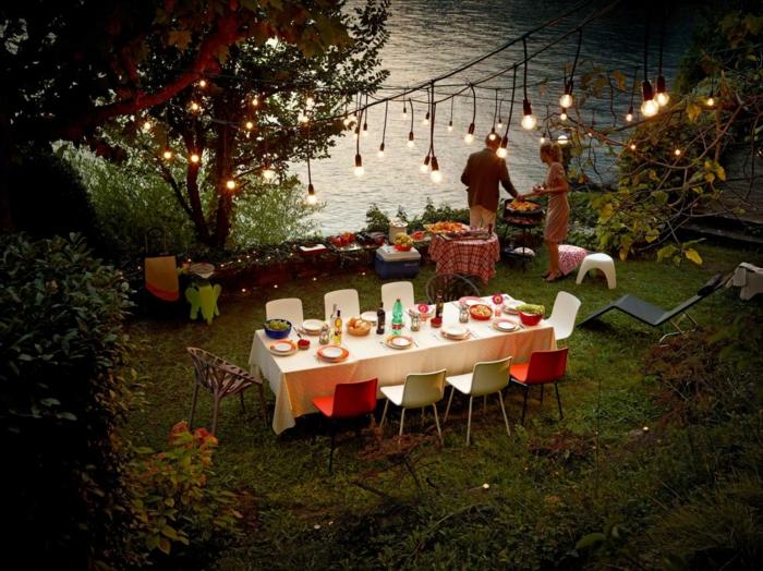 saison estivale surprendre les invités idée party au jardin marinade pour viande rouge bbq