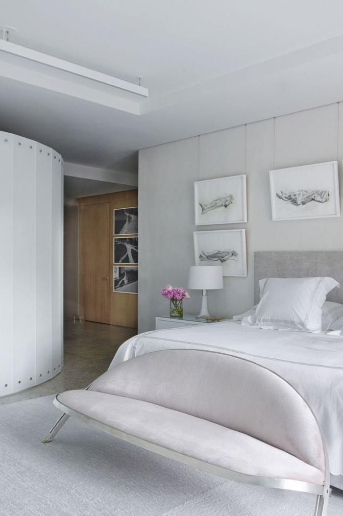 tendance chambre à coucher 2019 canapé recouvert de tissu
