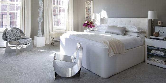 tendance chambre à coucher 2019 lit recouvert de soie