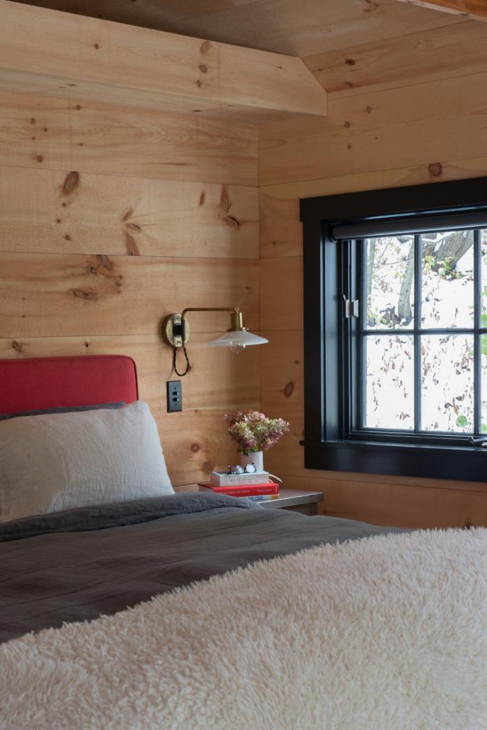 tendance chambre à coucher 2019 murs en bois