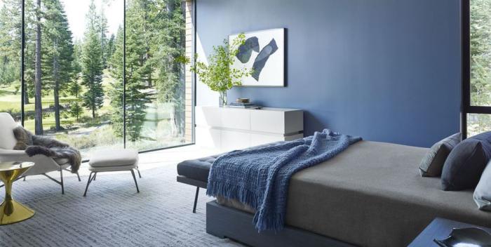 tendance chambre à coucher 2019 silhouettes propres