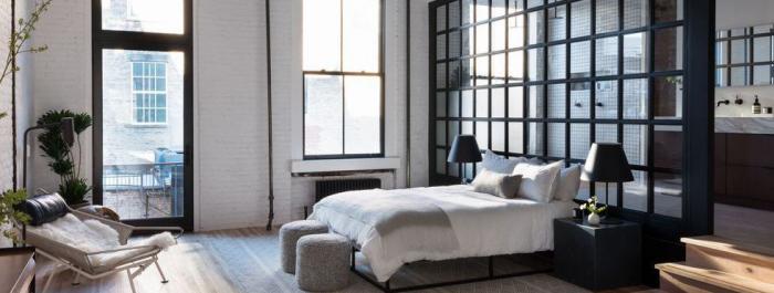 tendance chambre à coucher 2019 style industriel