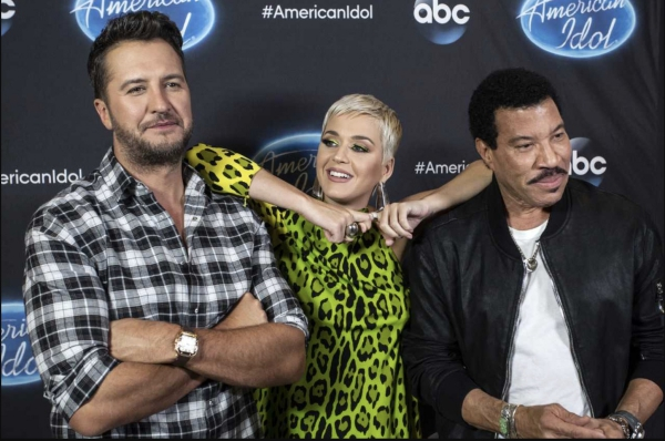 Katy Perry dans American Idol