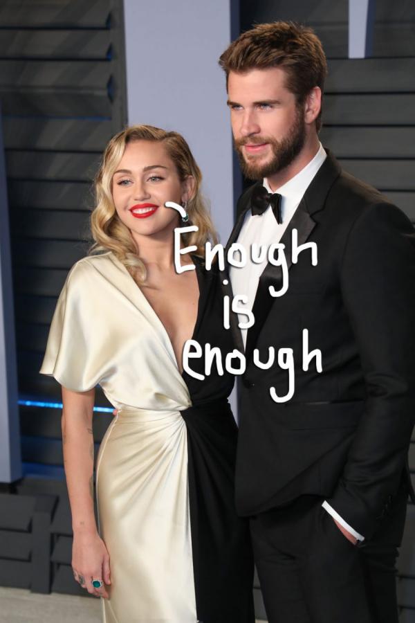 Miley Cyrus et Liam Hemsworth fin de l'idylle