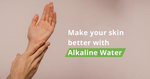 alcaliniser l'eau bonne pour la peau