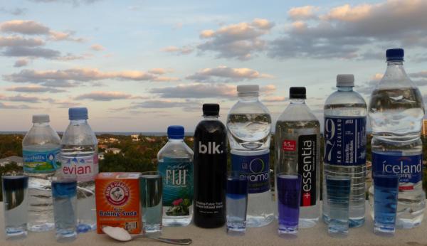 alcaliniser l'eau différentes marques