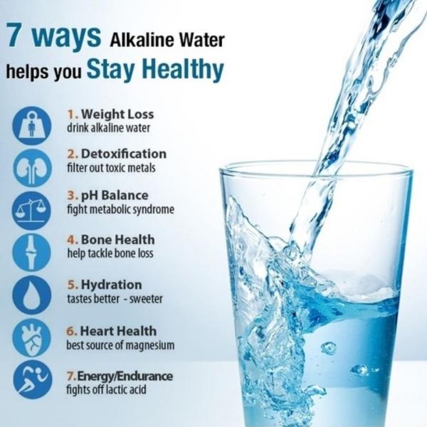 alcaliniser l'eau pH équilibré