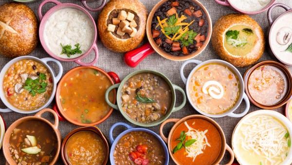 aliments repas équilibrés