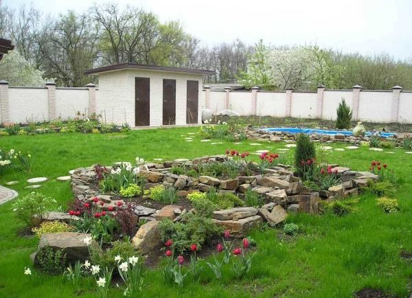 aménagement jardin paysager espace vert