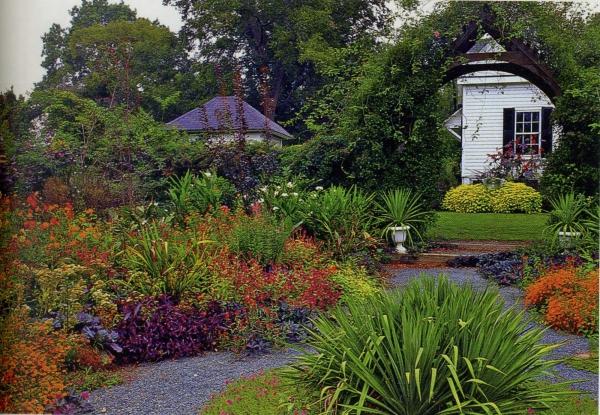 aménagement jardin paysager paysage rustique
