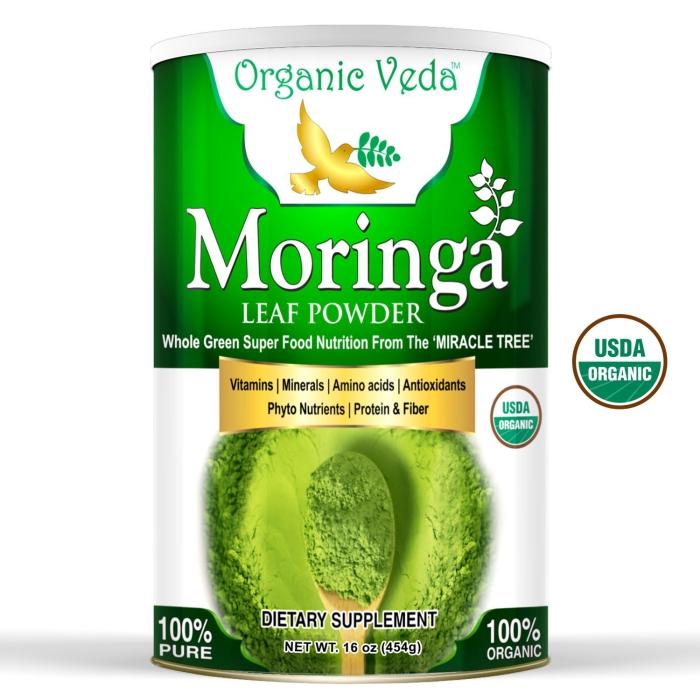 bienfaits du moringa protéines et fibres