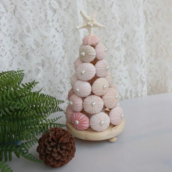 déco de table en oursins roses diy