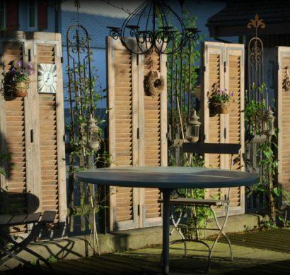 volet fenêtre brise-vue jardin