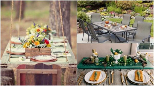 diy table de jardin volet fenêtre